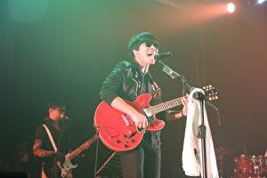 卢广仲上周巡回演唱会自台中、台东起跑。图为演唱会现场资料画面。(添翼创越工作室提供)