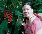 遭中共指控犯间谍罪的美籍华裔女商人潘婉芬(Sandy Phan-Gillis),中共一法院4月25日判处有期徒刑三年半,随后下令驱逐出境。潘女士已于28日返回美国。(Jeff Gillis提供)