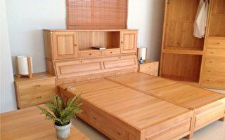 舒緩安神!台灣檜木家具天然的芬多精