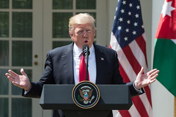川習會前,美國總統川普已重申美方將恪守「一中政策」,外交部對此表示歡迎。(AFP)