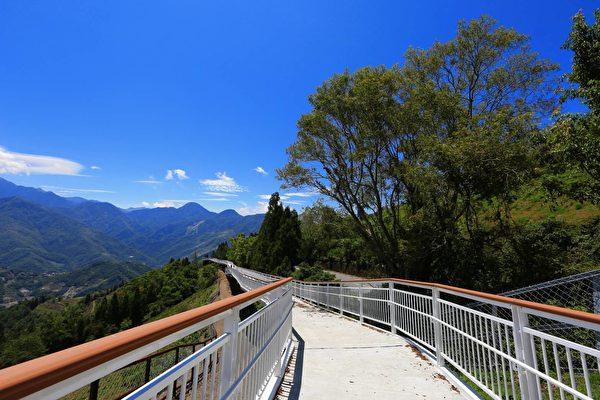 預計5月啟用的全台最高步道「清境高空觀景步道」。(南投縣政府提供)