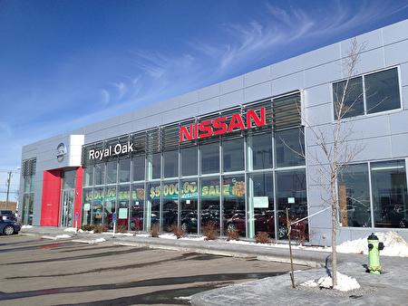 卡爾加里Royal Oak Nissan車行不僅吸引本地顧客,還有附近城鎮、甚至其他省份顧客前往購車。(Royal Oak Nissan提供)。