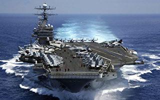 川習會後,美國卡爾文森號航母戰鬥群開往日本海,中國派出數萬軍隊接近中朝邊境,而北韓則要繼續核試驗和洲際導彈發射。一時間朝鮮半島戰雲密佈。(U.S. Navy via Getty Images)