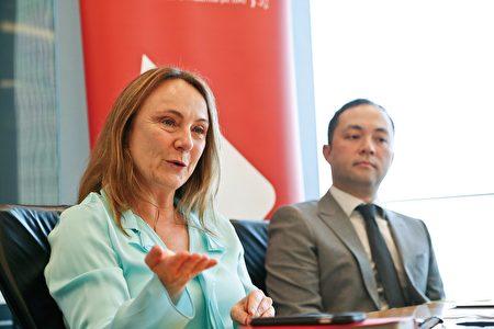 瀚亚投资首席投资总监Virginie Maisonneuve表示,现时中国大陆经济增长为6.9%可能因得到技术性支持,但对于中长期而言或可能录得进一步放缓。(余钢/大纪元)