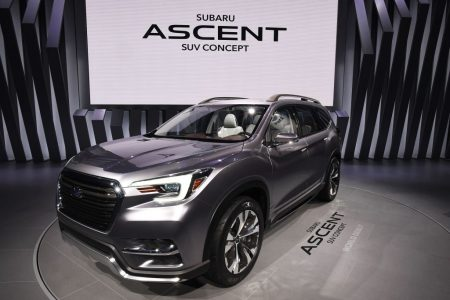 斯巴鲁ASCENT SUV。