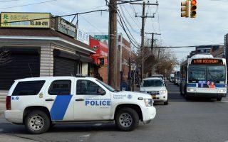 紐約市議會欲立法,禁止聯邦執法人員進入市屬物業的非公共領域。 (STAN HONDA/AFP/Getty Images)