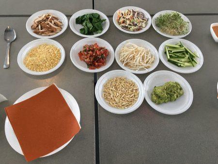 陈曦把食材全替换成绿色健康的。