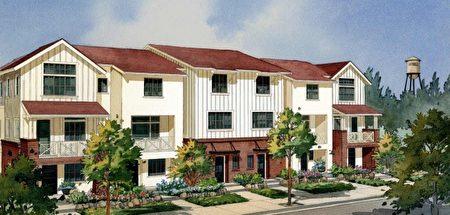南灣新房,Robson Homes開發的Madison小區。(矽谷房地產經紀Li Jin提供)