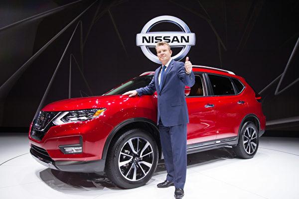 纽约国际车展新车发表,Nissan Rogue Dogue concept 。(戴兵/大纪元)