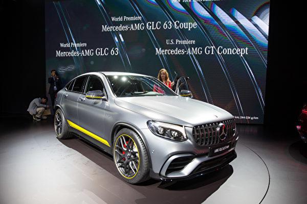 纽约国际车展新车发表,MERCEDES-BENZ (戴兵/大纪元)