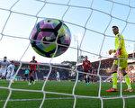 切爾西客場3:1擊敗伯恩茅斯,以7分優勢領跑,一致被看好會最終問鼎。(Mike Hewitt/Getty Images)