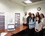 """参与华埠""""步行适宜度""""调研项目的人员,后排右一为华埠更好团结联盟廖敏欣,后排右二为IIT社会学系副主任、该项目指导教师Rebecca Steffenson。(温文清/大纪元)"""