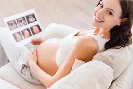 幸福的孕妇。(Fotolia)