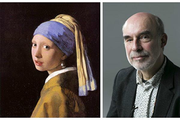 丹麦国家美术馆修复部主管约恩‧瓦杜姆教授1994年对维米尔的名作《戴珍珠耳环的少女》进行了最近一次修复,有颇多心得与洞见。(公有领域,Samira Bouaou/大纪元合成)