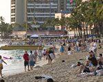 2千多名中国及香港的Nu Skin经销商,原本计划下个月到夏威夷参加商务会议,因美签被拒而无法成行。(SAUL LOEB/AFP/Getty Images)
