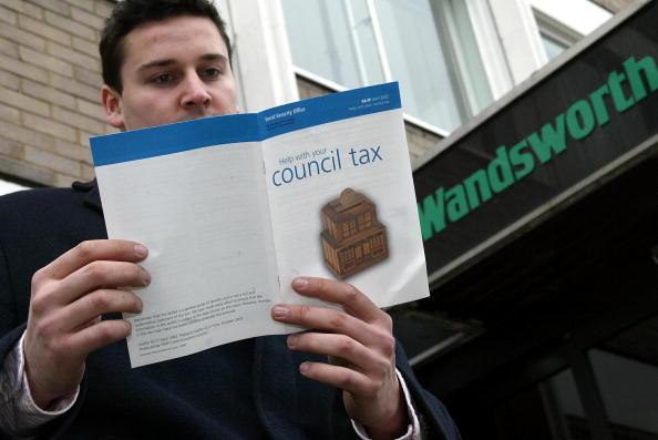 英格兰绝大部分地区今年市政税都明显上涨。(Hugo Philpott/Getty Images)
