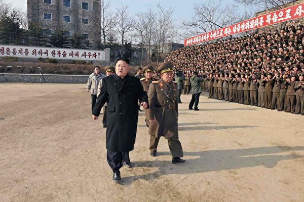 由独裁者金正恩领导的朝鲜已经进行了五次核试验。(KNS/AFP/Getty Images)