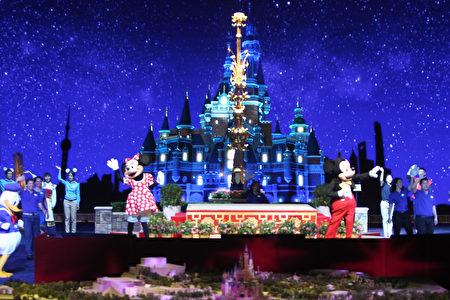 上海迪士尼樂園。(VCG/VCG via Getty Images)