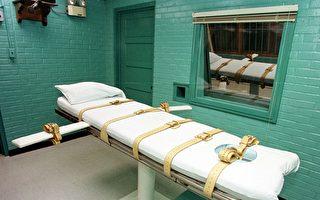 得克萨斯州亨廷斯维尔刑事司法部的死刑室。( PAUL BUCK/AFP/Getty Images)