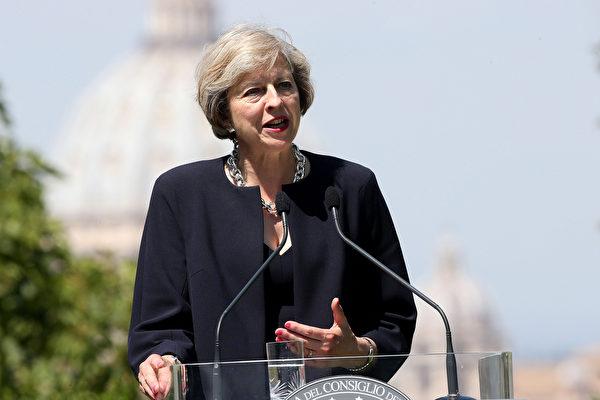英意外宣布提前大選 歐盟密切關注