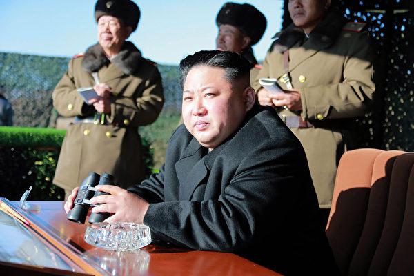 儘管外界猜測,如果朝鮮實施又一次核試驗,美國可能對它發起先發製人的打擊,但是一些前美國官員說,這種事情發生的機會似乎是微乎其微的。圖為朝鮮領導人金正恩。  ( KNS/AFP/Getty Images)