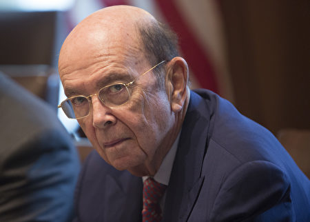 美國商務部長羅斯(Wilbur Ross)。(Chris Kleponis-Pool/Getty Images)