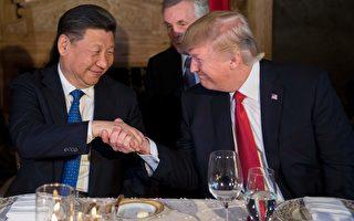 川普接受福克斯商業(Fox Business)新聞專訪,透露川習會晚宴內幕。(JIM WATSON/AFP/Getty Images)