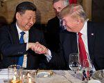 当面告诉习近平发射导弹 川普透露晚宴内幕。 (JIM WATSON/AFP/Getty Images)