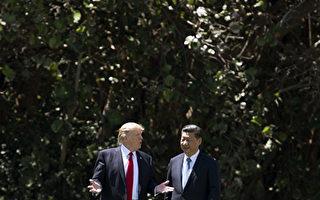 """美国总统川普(特朗普)4月27日接受路透社专访时赞习近平非常努力地在遏制朝鲜,但表示美朝之间非常可能发生""""重大、重大的冲突""""。 (JIM WATSON/AFP/Getty Images)"""