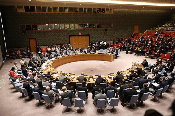 美国在安理会提议一份谴责朝鲜导弹试验的声明,中国支持这项措施,但是俄罗斯反对。(Spencer Platt/Getty Images)