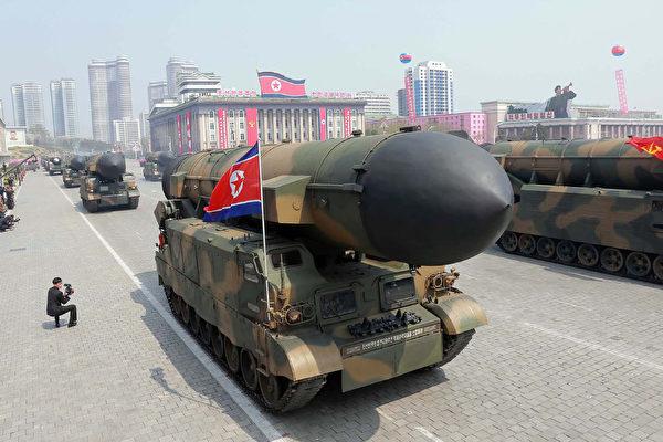 朝鲜又发射弹道导弹 飞行中爆炸