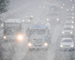 德国慕尼黑近日迎来了降雪。(TOBIAS HASE/AFP/Getty Images)