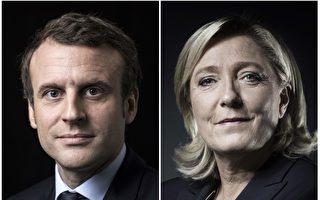 法國大選第一輪,政壇新人和邊緣黨派領袖戰勝了兩大傳統政黨,將在5月7日爭奪總統寶座。 ( JOEL SAGET,ERIC FEFERBERG/AFP/Getty Images)