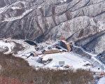 马息岭滑雪场的全景(ED JONES/AFP/Getty Images)