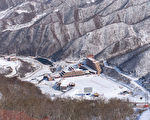 馬息嶺滑雪場的全景(ED JONES/AFP/Getty Images)