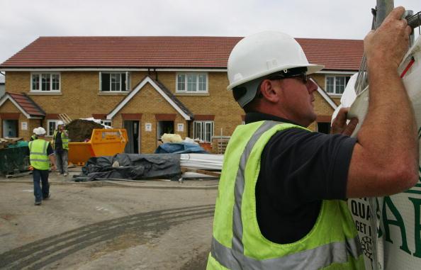 近年,英国许多新建的房子甚至都不出售产权,只出售租赁权( Cate Gillon/Getty Images)