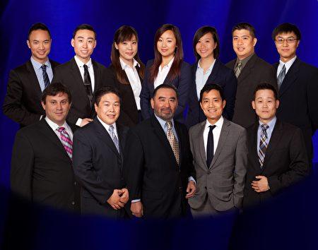 王明武律师事务所团队。(湾区律师团队王明武律师事务所提供)