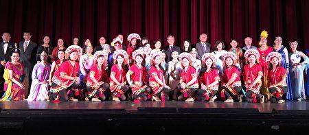 美國華裔舞蹈協會4月22日晚間於聖蓋博市立劇院舉辦第30屆「中華舞篇」舞展。(袁玫/大紀元)
