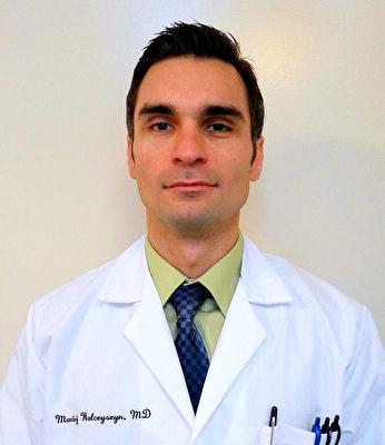 法拉盛醫院肺科和重症監護醫學主任Dr.Maciej Walczyszyn將講解「特發性肺纖維化」專題。(大紀元)