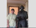華盛頓DC法輪功學員林曉旭是美國陸軍研究所的微生物研究員,他在國內的親屬近日受到中共國安威脅。圖為林曉旭。(林曉旭本人提供)