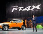 丰田小型SUV概念车FT-4X。 (戴兵/大纪元)