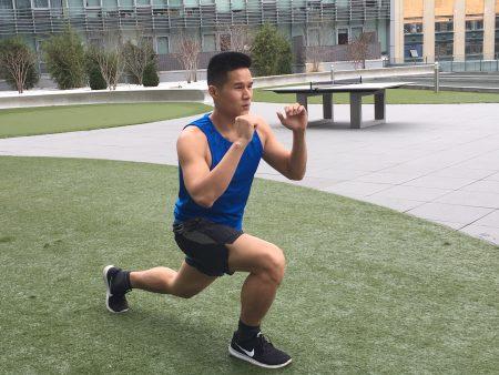 除了健康食物,陈曦每天还坚持运动。
