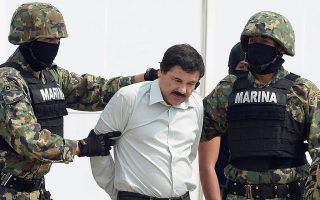 墨西哥头号大毒枭古兹曼。 (Alfredo Estrella/AFP/Getty Images)