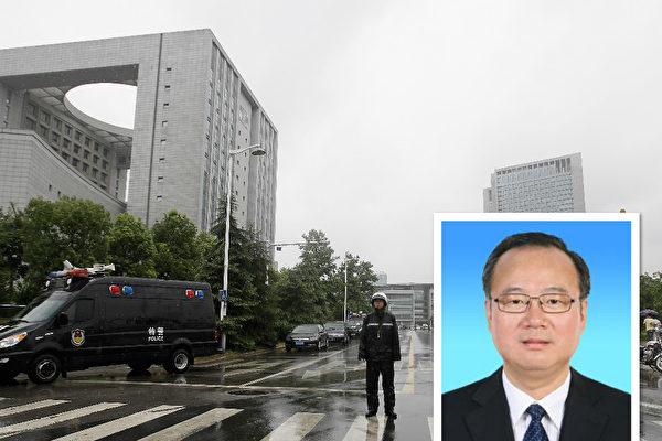4月26日,中共安徽省副省长周春雨被审查。(公有领域,Getty Images/大纪元合成)