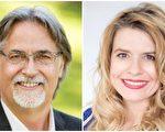 兩名新當選的國會議員本森(左)和庫西(右)。(大紀元資料)