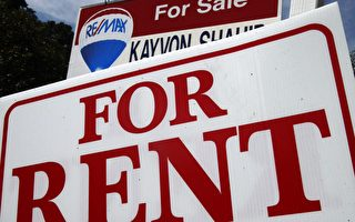 多倫多的租房市場越來越熱,房租不斷上漲,令租客難以承擔。(加通社)