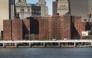 位于纽约市的一处公屋。 (Spencer Platt/Getty Images)