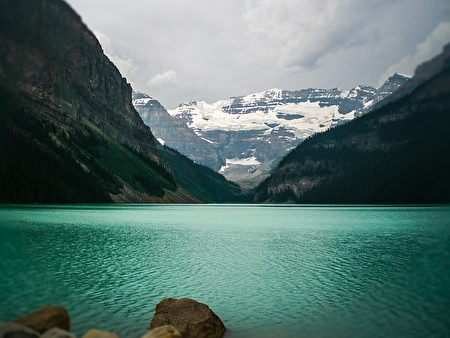加拿大路易斯湖。(Pixabay)