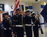 「軍校之夜」活動為家長和學生提供了與軍校老師直接面對面咨詢的機會。(亦平/大紀元)