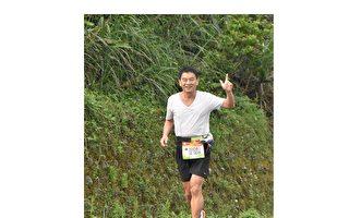 退休後的黃瑞祥博士以跑馬拉松精神呼籲大家珍惜這片土地。(黃瑞祥提供)